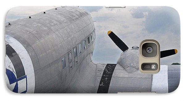 Galaxy Case featuring the photograph C-47 3880 by Guy Whiteley