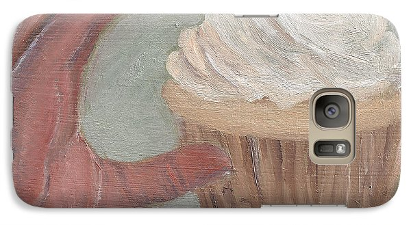 Galaxy Case featuring the painting C Is For Cupcake by Jessmyne Stephenson