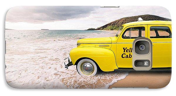 Cab Fare To Maui Galaxy S7 Case by Edward Fielding