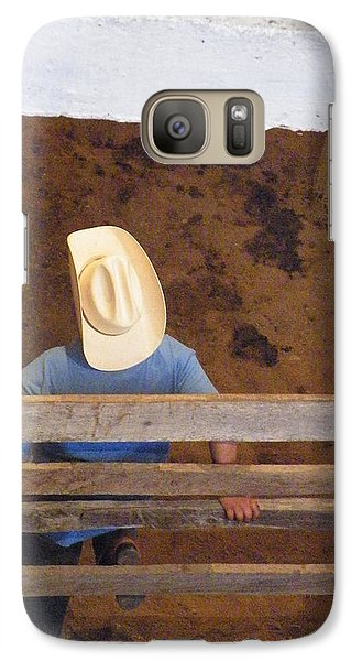 Galaxy Case featuring the photograph Caballero by Brian Boyle