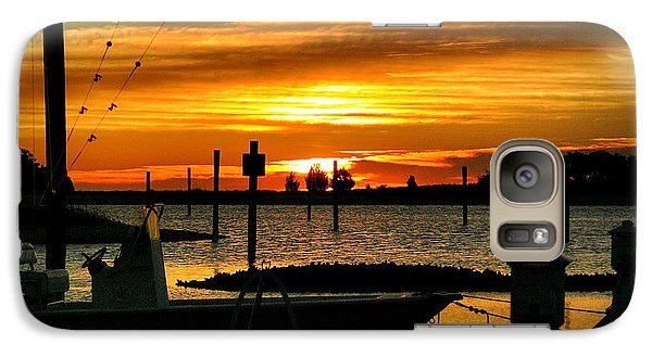 Galaxy Case featuring the photograph Cabbage Inlet Sunrise II by Phil Mancuso