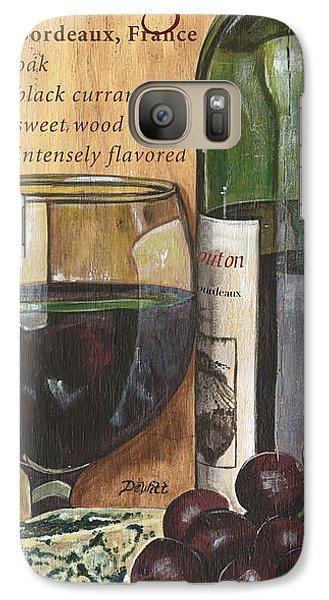 Cabernet Sauvignon Galaxy S7 Case by Debbie DeWitt