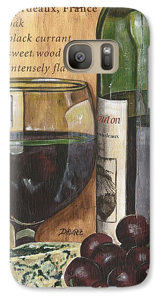 Cocktails Galaxy S7 Case - Cabernet Sauvignon by Debbie DeWitt