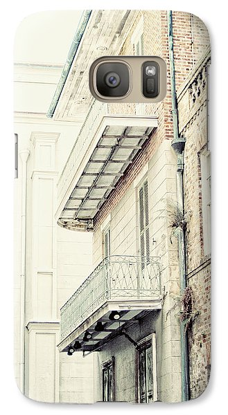 Galaxy Case featuring the photograph Cabildo Alley by Heather Green