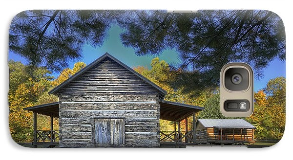 Galaxy Case featuring the photograph Cabin At Yellow Creek by Wendell Thompson