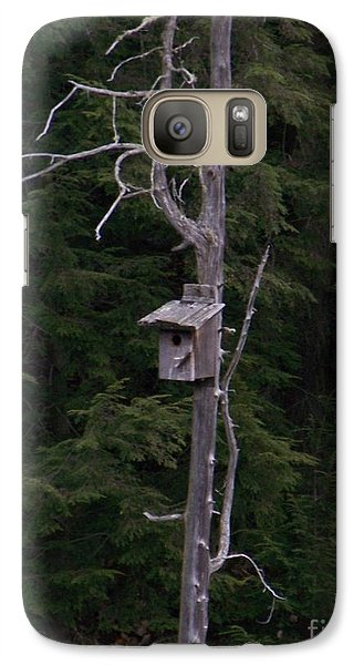 Galaxy Case featuring the photograph Cabin On Mud Lake by Jackie Mueller-Jones