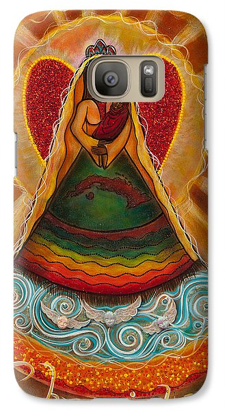 Galaxy Case featuring the painting Cachita Madonna by Deborha Kerr