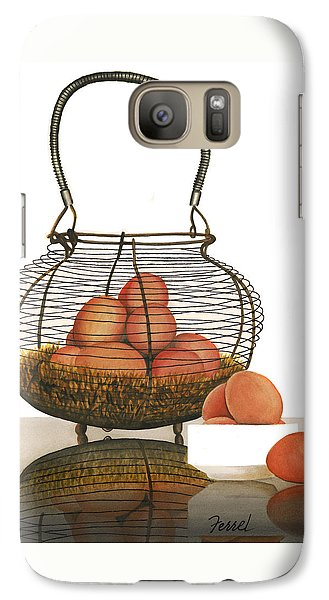 Galaxy Case featuring the painting Cackleberries by Ferrel Cordle