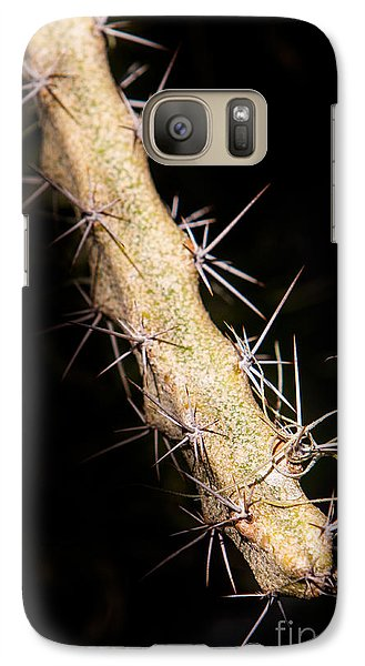 Galaxy Case featuring the photograph Cactus Branch by John Wadleigh