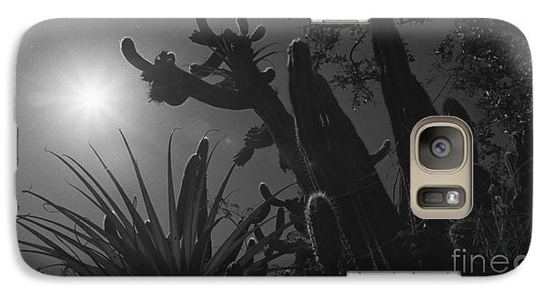 Galaxy Case featuring the photograph Cactus Family - 2 by Kenny Glotfelty
