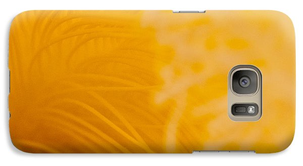 Galaxy Case featuring the photograph Cactus Flower Stamens by Jani Freimann