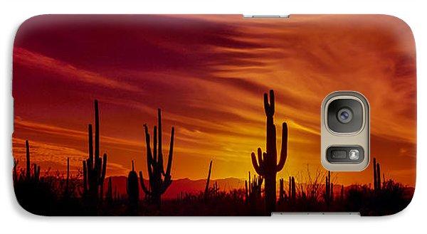 Cactus Glow Galaxy S7 Case