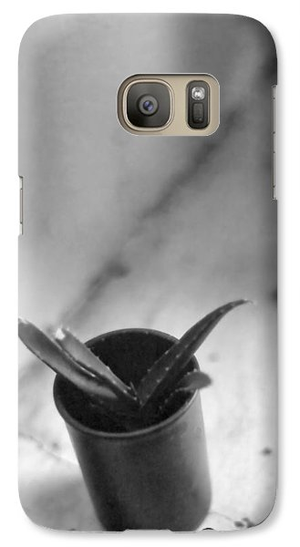 Galaxy Case featuring the photograph Cactus In A Film Can by Bob Wall