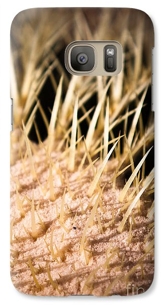Galaxy Case featuring the photograph Cactus Skin by John Wadleigh