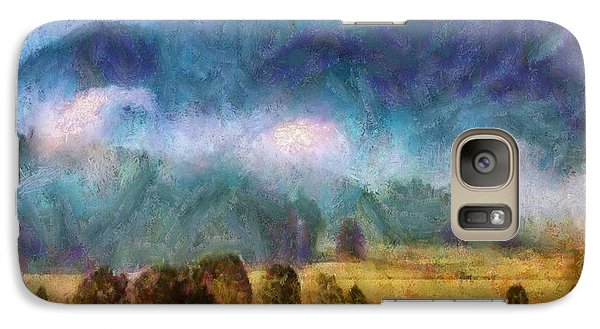 Galaxy Case featuring the painting Cades Cove Tennessee  by Elizabeth Coats