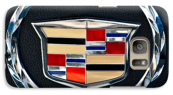 Cadillac Emblem Galaxy S7 Case