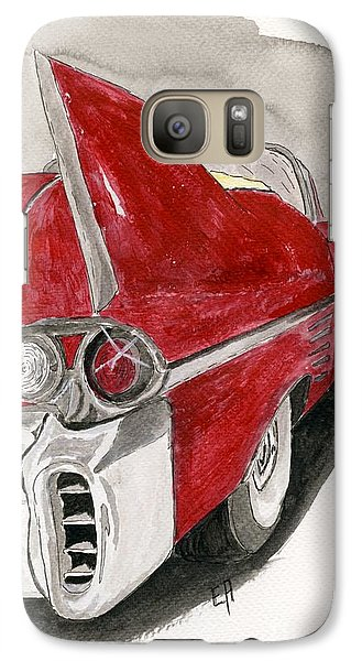 Galaxy Case featuring the painting Cadillac by Eva Ason