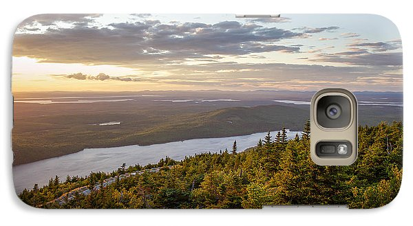 Galaxy Case featuring the photograph Cadillac Mountain Sunset  by Trace Kittrell