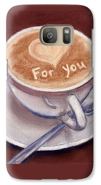 Caffe Latte Galaxy S7 Case