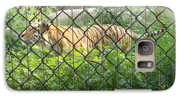 Galaxy Case featuring the photograph Caged by Fortunate Findings Shirley Dickerson