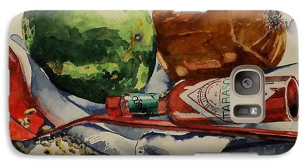 Galaxy Case featuring the painting Cajun Cookin' by Jeffrey S Perrine