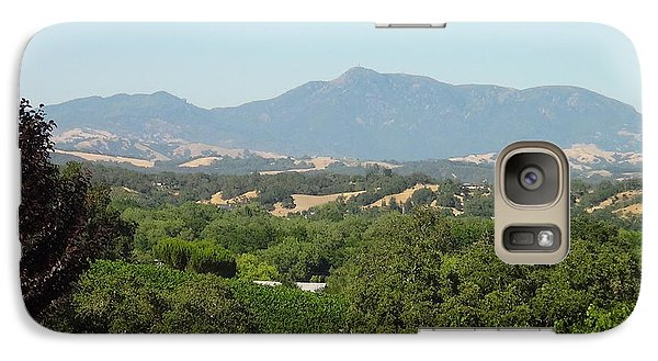 Galaxy Case featuring the photograph Cali View by Shawn Marlow