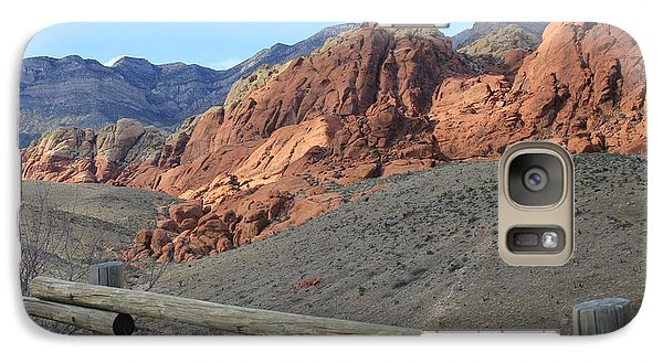 Galaxy Case featuring the photograph Calico Hills Az by Kathleen Scanlan