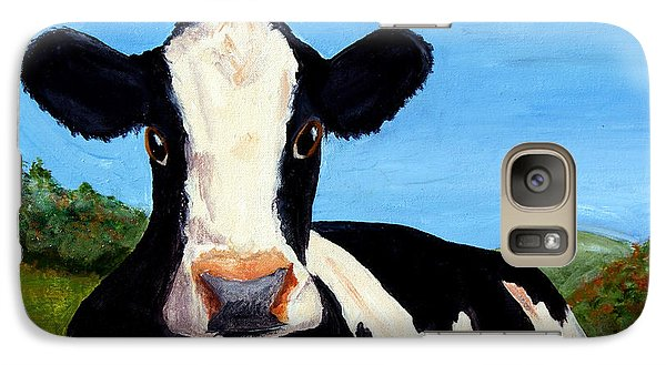 Galaxy Case featuring the painting California Beauty by Terry Taylor