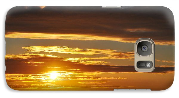 Galaxy Case featuring the photograph California Central Coast Sunset by Kyle Hanson