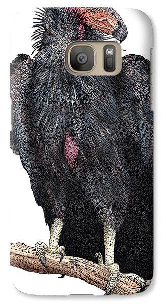 California Condor Galaxy S7 Case by Roger Hall