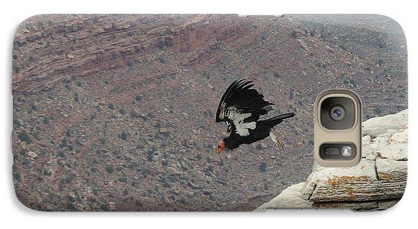 Galaxy Case featuring the photograph California Condor Taking Flight by Jayne Wilson