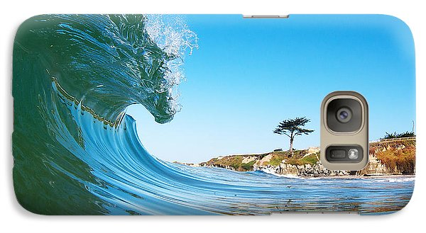 Galaxy Case featuring the photograph California Curl by Paul Topp