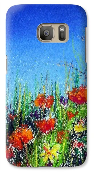 Galaxy Case featuring the pastel California Dreaming by Jodie Marie Anne Richardson Traugott          aka jm-ART