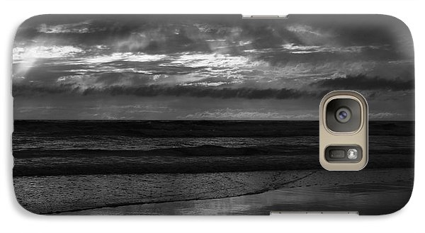 Galaxy Case featuring the photograph  Cardiff Godrays by John F Tsumas