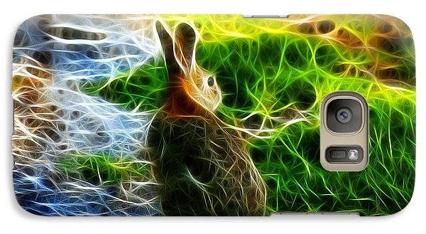 Galaxy Case featuring the digital art California Hare - 0297 by James Ahn