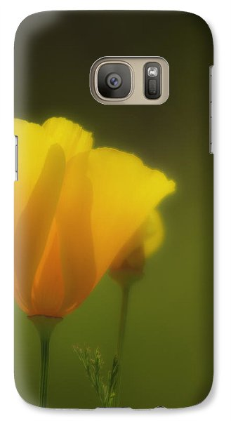 Galaxy Case featuring the photograph California Poppies 2 by Sherri Meyer