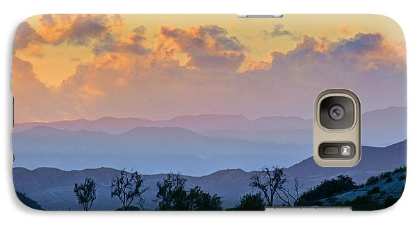 Galaxy Case featuring the photograph California Sunset by Martin Konopacki