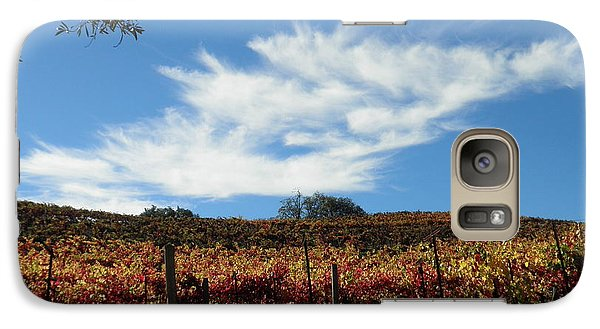 Galaxy Case featuring the photograph California Vineyard by Suzanne McKay