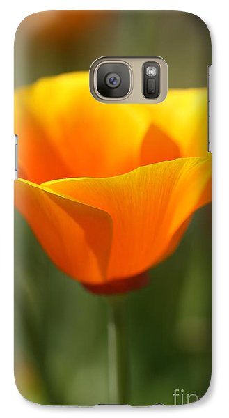 Galaxy Case featuring the photograph Californian Poppy by Joy Watson