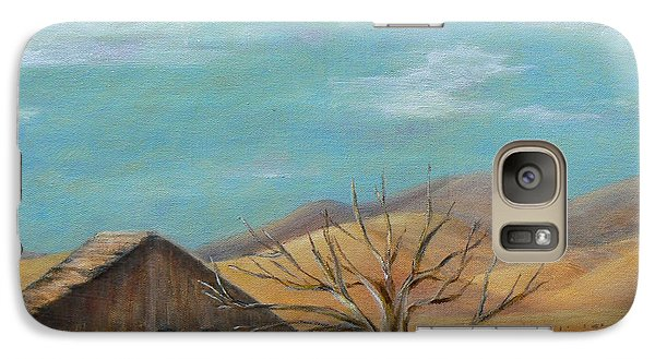 Galaxy Case featuring the painting California's Gold by Terry Taylor