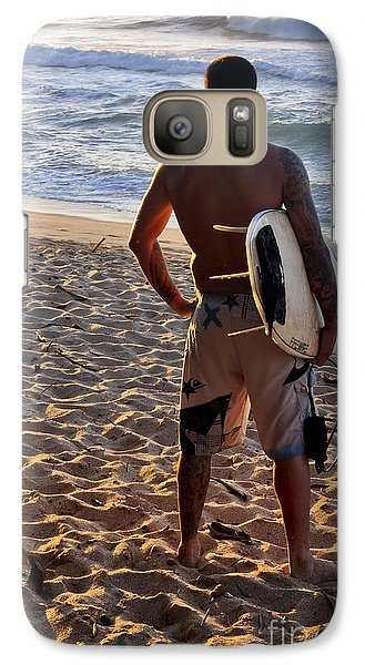 Galaxy Case featuring the photograph Call Of The Surf by Gina Savage