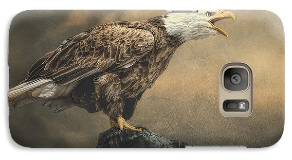 Galaxy Case featuring the photograph Call Of The Wild by Brian Tarr