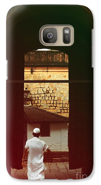 Galaxy Case featuring the photograph Call To Prayer by Mini Arora