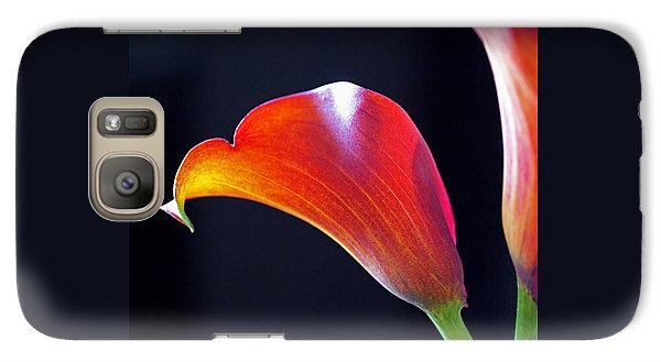 Calla Colors And Curves Galaxy S7 Case