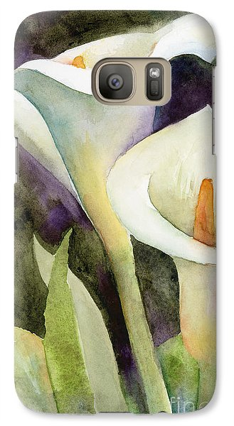 Lily Galaxy S7 Case - Calla Lilies by Amy Kirkpatrick