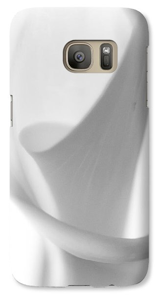 Galaxy Case featuring the photograph Calla Lily by Jonathan Nguyen