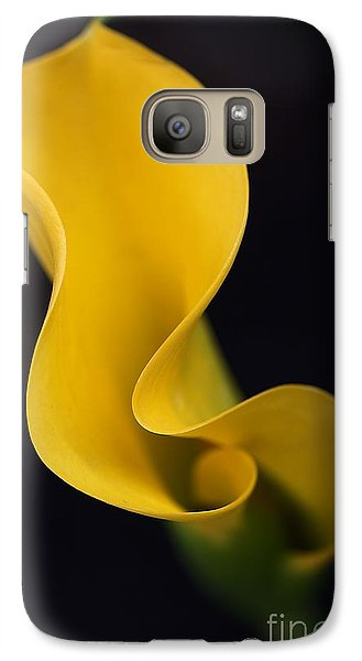 Galaxy Case featuring the photograph Calla Lily by Joy Watson