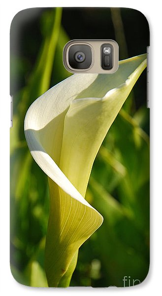 Galaxy Case featuring the photograph Calla Lily by Mary Carol Story