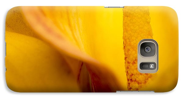 Galaxy Case featuring the photograph Calla Lily by Sebastian Musial