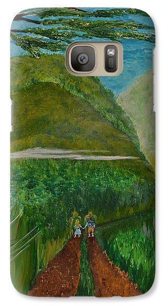 Galaxy Case featuring the painting Called To The Mission Field by Cassie Sears